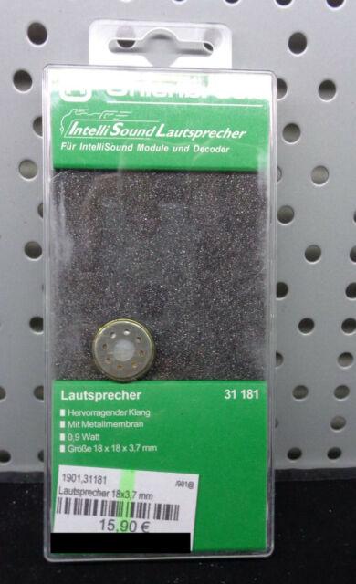 8 Ohm 0,35W  NEU Uhlenbrock 31101 Lautsprecher 15mmx11mmx3,5mm
