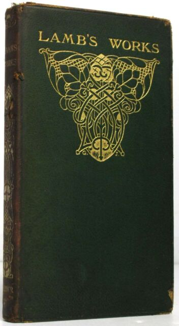 The Works of Charles Lamb.Charles Lamb.Leather.Book.Good