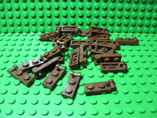** 25 CT LOT ** Lego NEW reddish brown 1 x 1 plate with vertical side clip