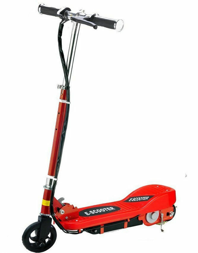 New Kids Electric Scooter  120W Toy 24V Battery Rechargeable Red and Sky bluee