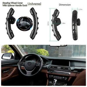 Black Steering Wheel Suicide Spinner Power Handle Knob Car /& Truck USA SKULL G//B