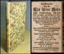 Schweiz  Basel  Chronik  Klauber  Erdbeben  Feuer  Krieg  Aufruhr  Tod  1751