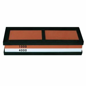 Dual-sided-1000-4000-Grit-Knife-Sharpening-Stone-Whetstone-Flattening-Stone-R3X5