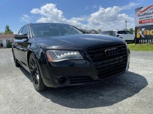 2012 Audi A8 CERTIFIED! PREMIUM! MASSAGE SEATS!! BLACKED OUT!!