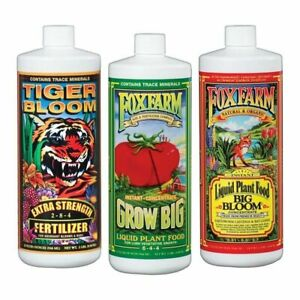 Fox-Farm-Soil-Trio-Nutrients-Bundle-Big-Bloom-Grow-Big-Tiger-Bloom-Quart-32oz
