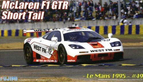 McLaren F1 Gtr Short Tail Le Mans 1995 #49 1:24 Plastic Model Kit FUJIMI