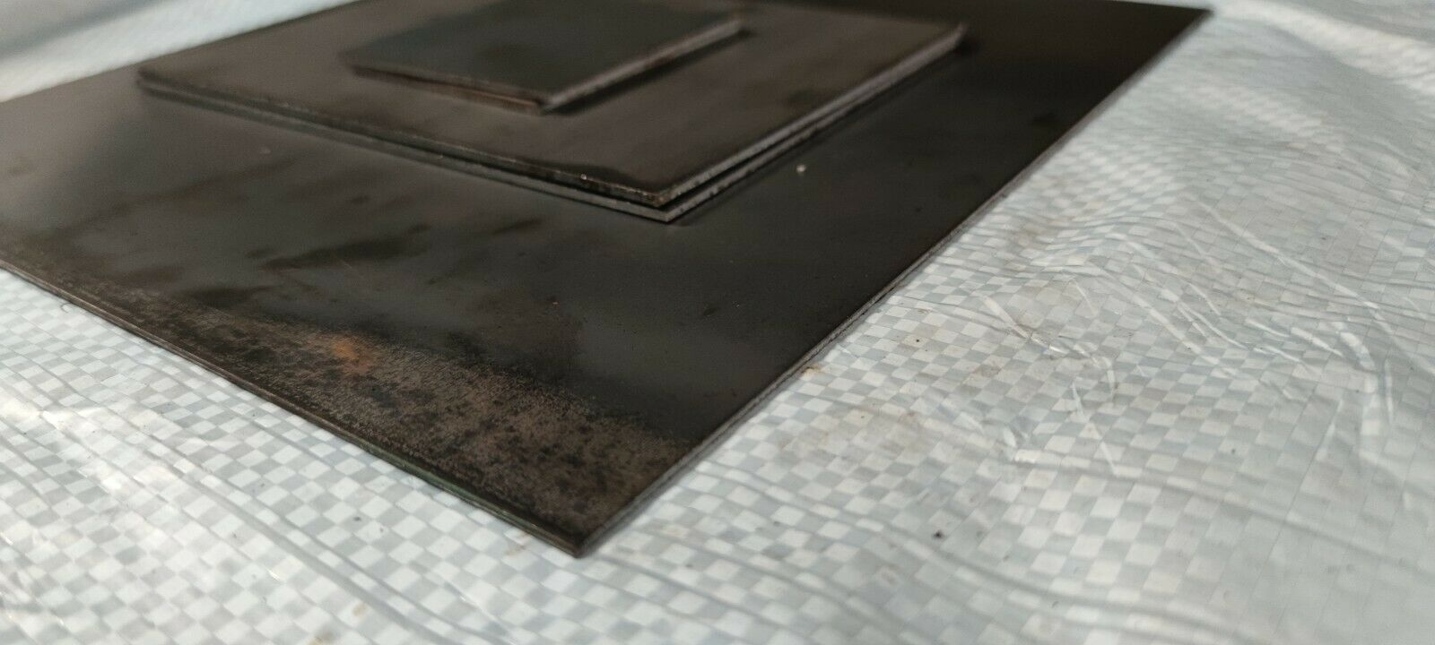 Budget MILD STEEL SHEET 1mm 2mm 3mm Thick UK Guillotine Cut New Metal Plate