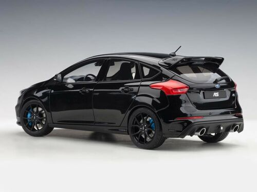Ford Focus RS Black Shadow 2016 composite 1:18 Autoart 72952
