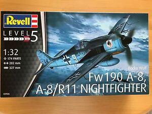 +++ Revell 03926 Focke Wulf Fw190A-8, A-8/R11 Nightfighter 1:32