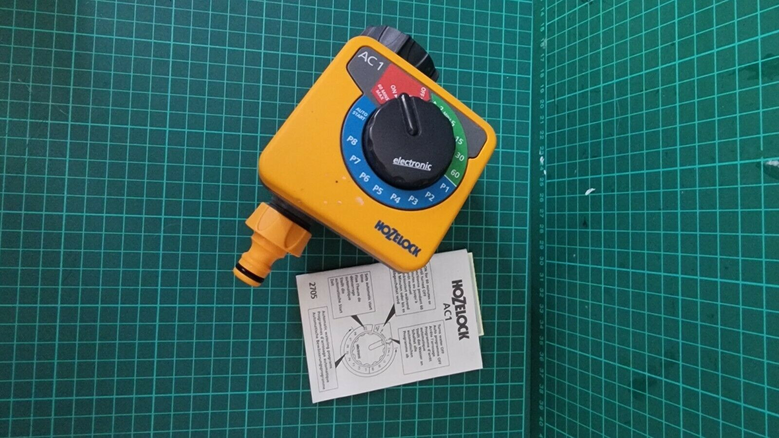 Hozelock AC1 Electronic Water Computer - Never Used