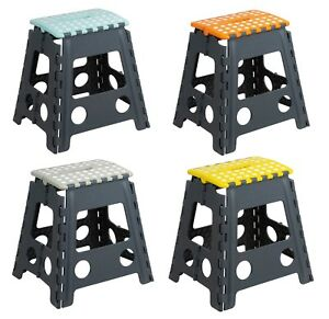 Plastic Step Stool Folding Foldable Multi Purpose Small
