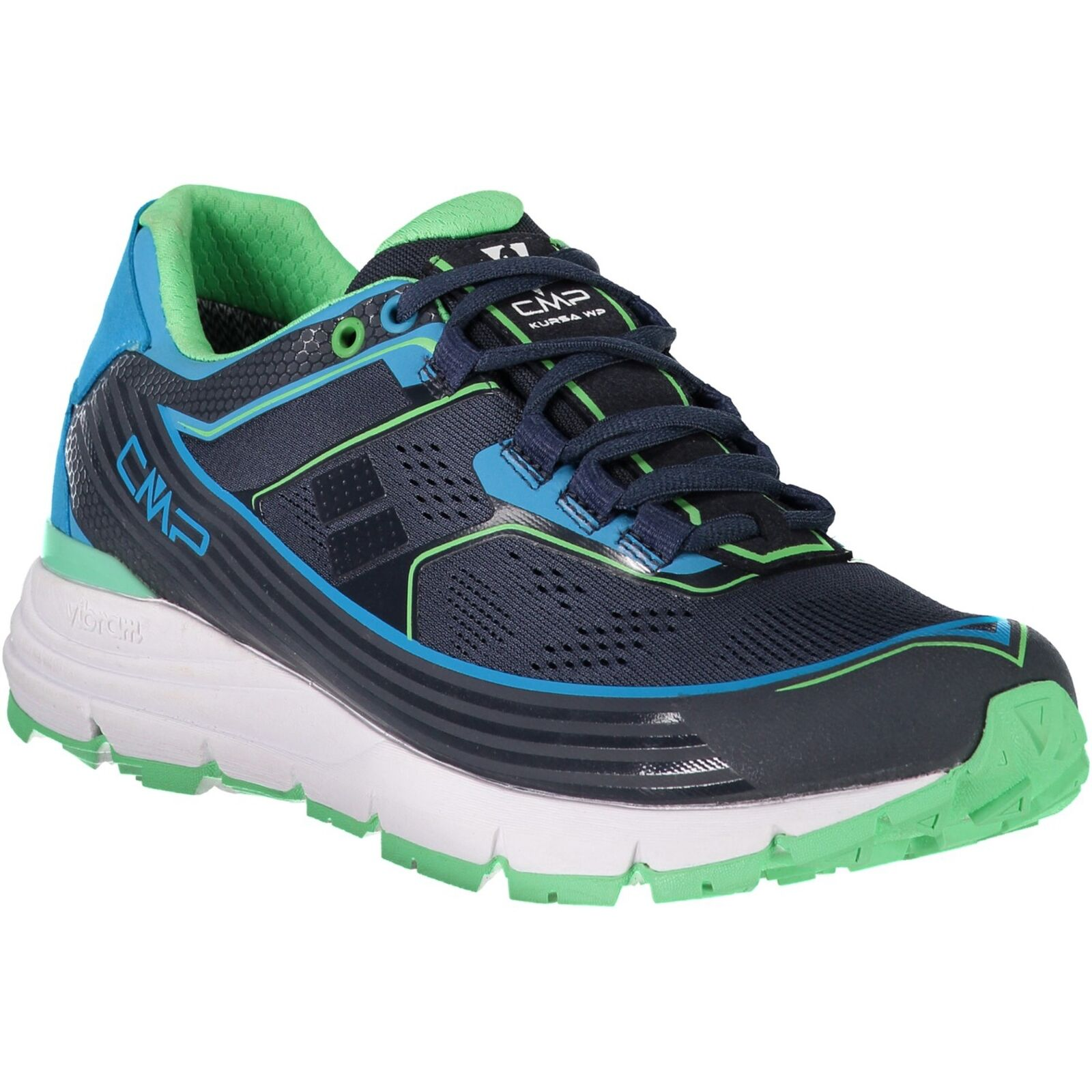 CMP zapatillas  calzado deportivo cursa WMN Trail zapatos WP azul oscuro Mesh  deportes calientes
