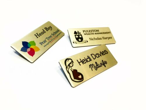 MAGNET Staff ID Personalised Name Badges Gym Personal Trainer Instructor /& Logo