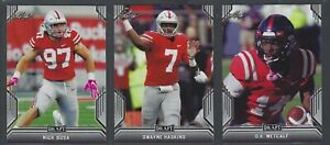 2019-Leaf-Draft-Football-Base-1-69-All-Rookies-COMPLETE-YOUR-SET-You-Pick