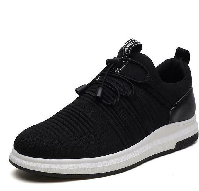 New Arrival Mens Breathable Shoes Lace Up Low Top Sneakers Athletic Shoes A-18