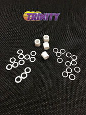 Trinity RevTech Ultimate TEFLON & Aluminum Brushless Motor Shim Kit (28pc) NEW!!