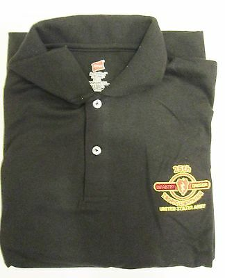 """25TH INFANTRY DIVISION /"""" FULL VERSION /"""" EMBROIDERED LIGHTWEIGHT POLO SHIRT"""