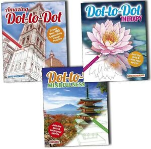 Dot-to-Dot-Therapy-Mindfulness-and-amazing-3-Books-Collection-Pack-Set