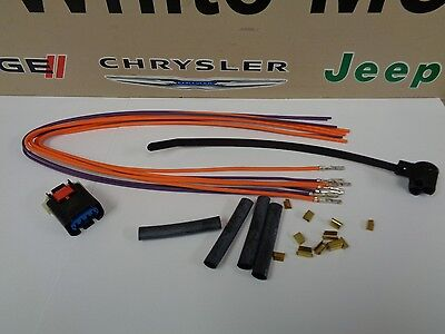 Dodge Chrysler Jeep Short Runner Valve Solenoid Wiring Harness Connector on jeep rivets, jeep hitch accessories, jeep ecu connectors, jeep lighting, jeep antennas, jeep wheels, jeep spark plugs, jeep tires, jeep wire connectors, jeep towing lights, jeep nuts, jeep ignition parts, jeep utility trailers, jeep warning lights, jeep jacks, jeep relay,