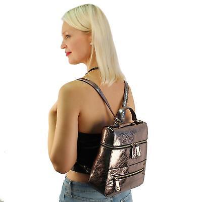 d79fdf34fed7 Dream Control Slim Sleek Dressy Vegan Leather Backpack Satchel ...