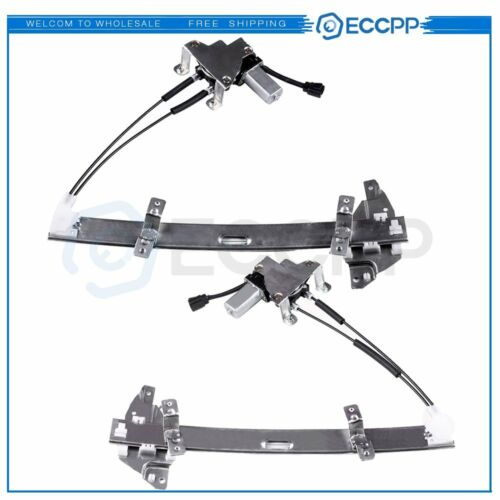 Power Window Regulator for 1997-2004 Buick Regal Front Left Rightwith Motor