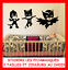 LOT-SET-GRAND-STICKER-MURAL-ENFANT-FIGURINE-GLUGLU-YOYO-PJ-MASKS-LES-PYJAMASQUES miniature 1