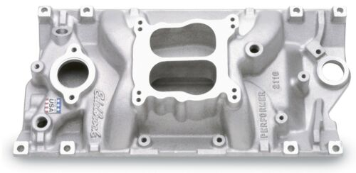Edelbrock 2116 Performer Intake Manifold Small Block Chevy w// Vortec Heads