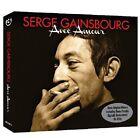 Serge Gainsbourg Avec Amour-L'etonnant/Du Chant A La Une/No2 3-CD NEW SEALED