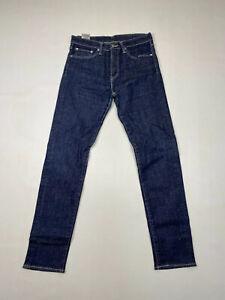 Levi-508-Slim-Tapered-Jeans-W31-L32-Bleu-Marine-Tres-bon-etat-Homme