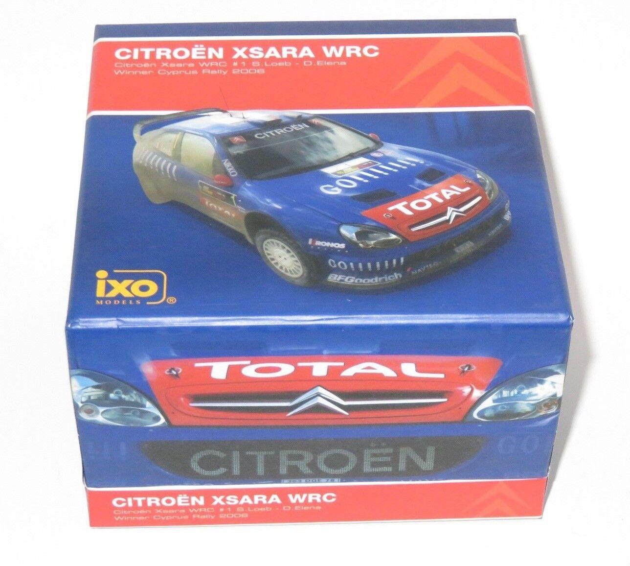 1 43 Citroen Xsara WRC Winner Rally Cyprus 2006  S.Loeb   D.Elena