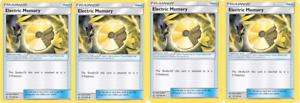 NM X4 Pokemon Ultra Prism-Trainer 121//156 Electric Memory