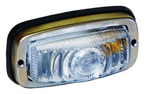 Monark Feux De Position Acier Inoxydable 12 & 24v Pour Oldtimer Position Lampe