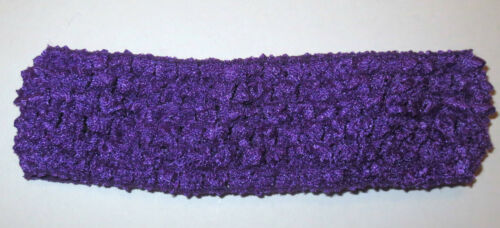 VARIOUS COLOURS BABY//GIRLS CROCHET LACEY HAIRBANDS