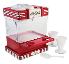 Nostalgia Snow Cone Maker Machine Professional Electric Ice Shaver Countertop