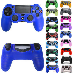 Silicone-Rubber-Skin-Cover-Protective-Gel-Case-for-Playstation-4-PS4-Controller