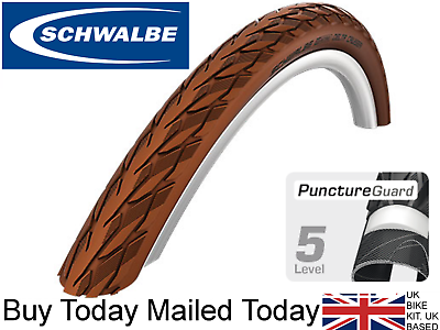 700 X 35c SCHWALBE DELTA CRUISER PLUS Puncture Protection Bike //Cycle Tyres