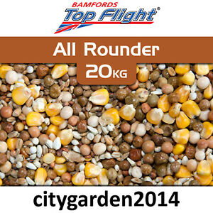 20kg Bamfords Top Flight All Rounder Pigeon Food (Maple Peas and Cereals Blend)