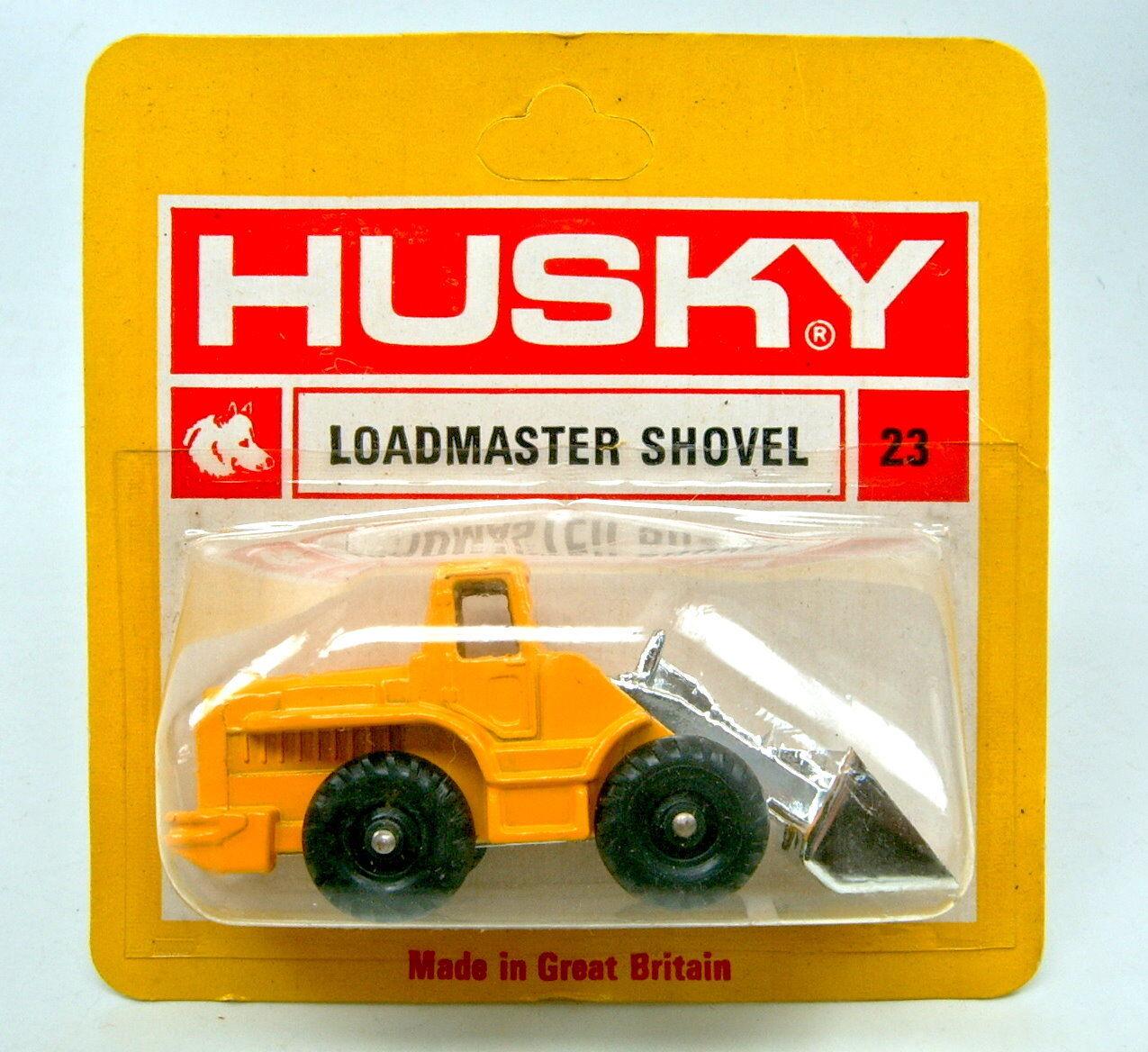 Husky no.23 loadmaster schaufel gelb & chrom top im blister