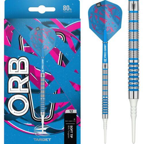 Soft Tip Target Orb Darts Set 18g 20g 21g 22g grams Softip Electro Blue