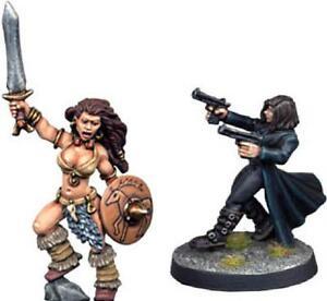 Mark Copplestone 28mm Henry V Barbarian Queen & Female Vampire Hunter NEW
