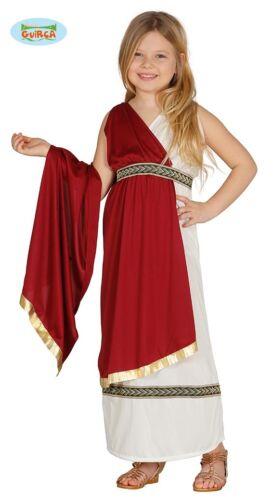 GUIRCA Costume imperatrice senatrice romana carnevale bambina mod 8595/_