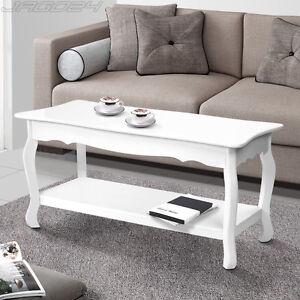 couchtisch tisch wei beistelltisch wohnzimmer sofatisch shabby chic landhaus ebay. Black Bedroom Furniture Sets. Home Design Ideas