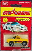 Majorette Die Cast 291 Depanneuse Blazer 4x4 Yellow Made In France