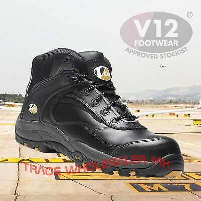V12 Smash Leather Composite Safety Work Boots 6-13 VS640