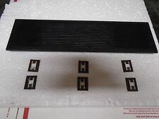 Sony TC-755 TC-758 Top Vent Window And Mount Clips P/N 3-140-977-03 Used