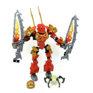 LEGO-Bionicle-Tahu-Master-of-Fire-Set-70787-Complete-No-Instructions-No-Box