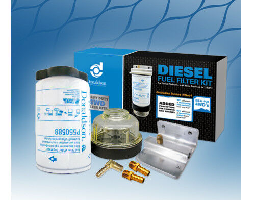 Donaldson Pre Filter Universal Fuel Water Separator Kit