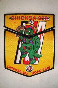 CHICKSA-202-YOCONA-AREA-2-PATCH-OA-100TH-ANN-2015-NOAC-FLAP-FUNDRAISER-TOUGH