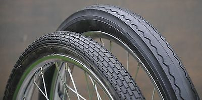 """20/"""" Muscle Bike Whitewall TIRES B Slick Vintage Huffy Stingray Bicycle Lowrider"""