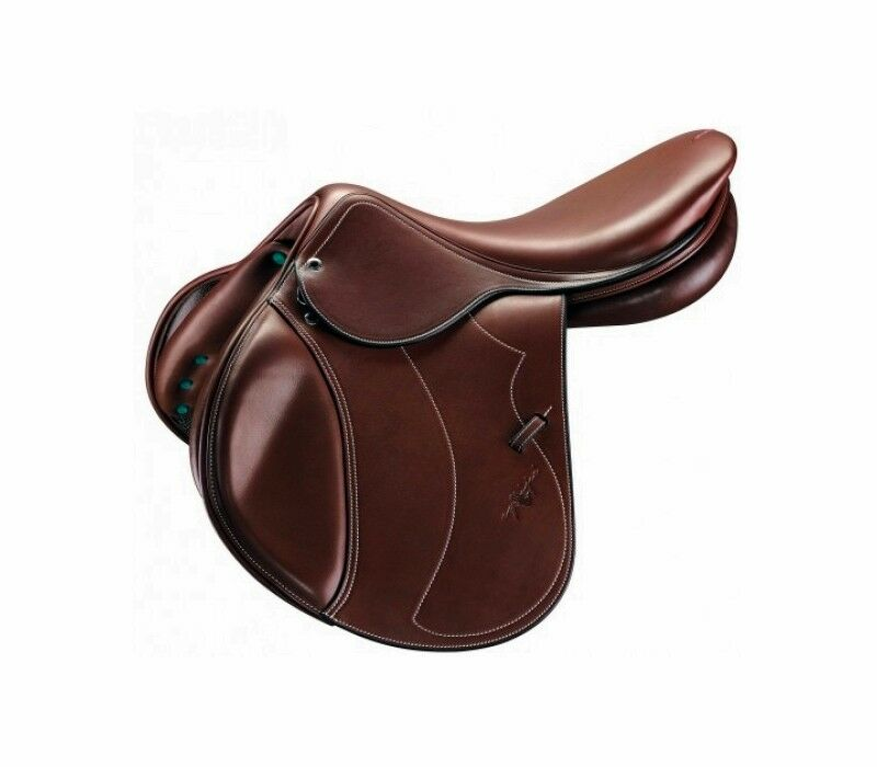 Equipe Grand Prix Special 17,5  Red Brown Jumping Saddle